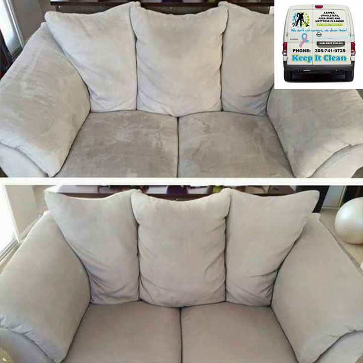 Professional Upholstery Cleaning Miami