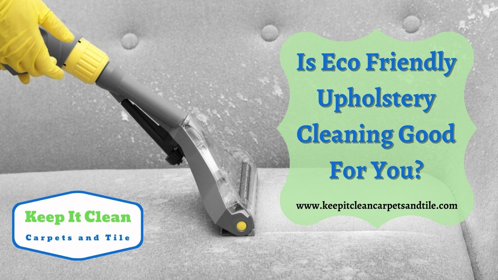 Eco Friendly Upholstery Cleaning Miami